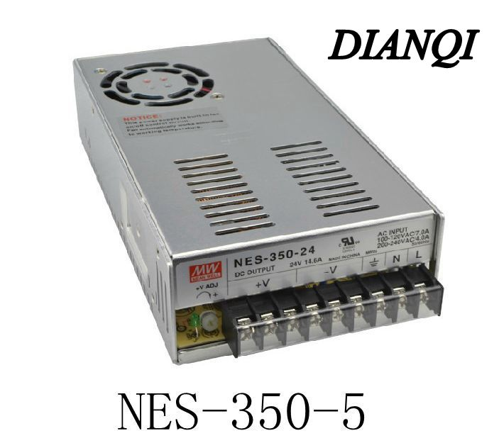 Original MEAN WELL power suply unit ac to dc power supply NES-350-5 300W 5V 60A MEANWELL lizard сандали nes 35 fire