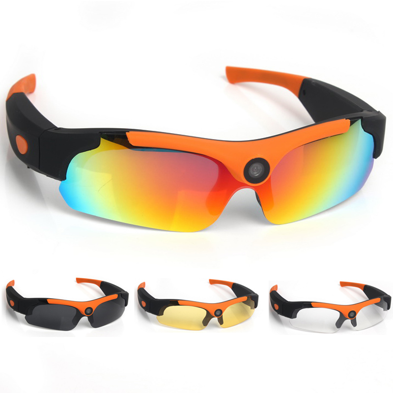 Outdoor Action 1080P HD Cycling Polarized Sunglasses Driver Eyewear DVR Video Camera Glasses 120 Degrees Photograph Eyewear