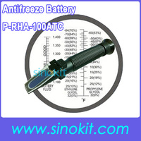 Toptan Plastik Malzeme Antifriz ve Batarya Siyah Refraktometre P-RHA-100ATC