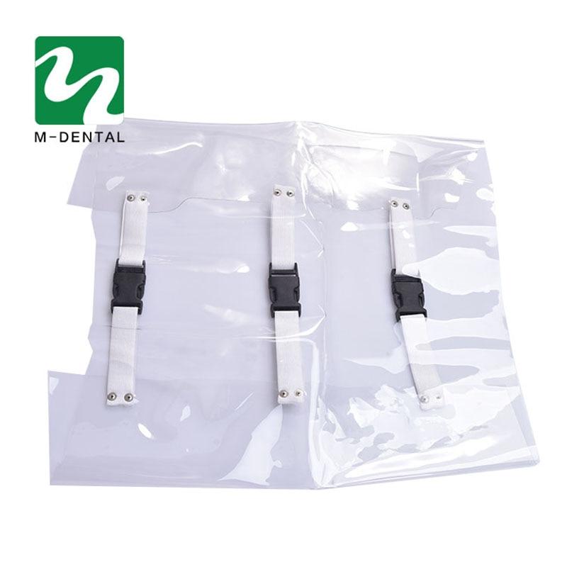 1 шт. Пылезащитная прозрачная Стоматологическая подушка для ног, защитная подушка для стула, коврик для медицинского питания