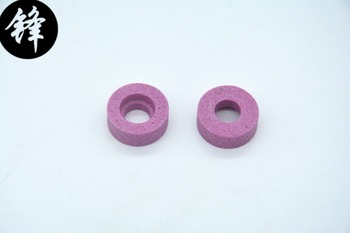 YJ-65 cutting machine parts grinding wheel pink or blue color image