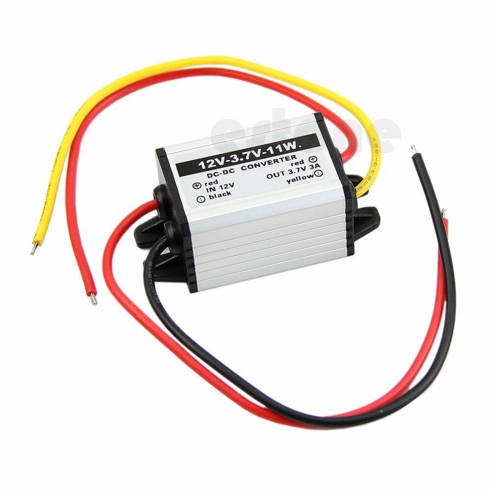 OOTDTY Waterproof DC to DC buck Converter 12V to 3.7V 11W Power Supply Module