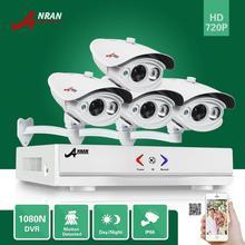 ANRAN HDMI 1080N 4CH AHD DVR 4X1/4 «CMOS Сенсор 1800TVL HD 720 P Открытый Дома Водонепроницаемый День Ночь Камеры Системы Видеонаблюдения