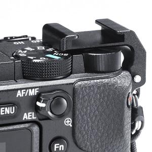 Image 3 - UURig R011 mikrofon soğuk ayakkabı plaka SONY A6400 uzatma sıcak ayakkabı adaptörü braketi Tripod tutucu DSLR kameralar aksesuarları