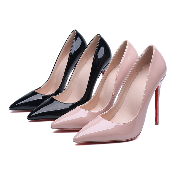 2017 Spring New Pointed Toe Women Pumps,Sexy Mujer Night Club Shoes High Heels Party Zapatos,Fashion Patent Leather Chaussures 2017 new spring summer shoes for women high heeled wedding pointed toe fashion women s pumps ladies zapatos mujer high heels 9cm