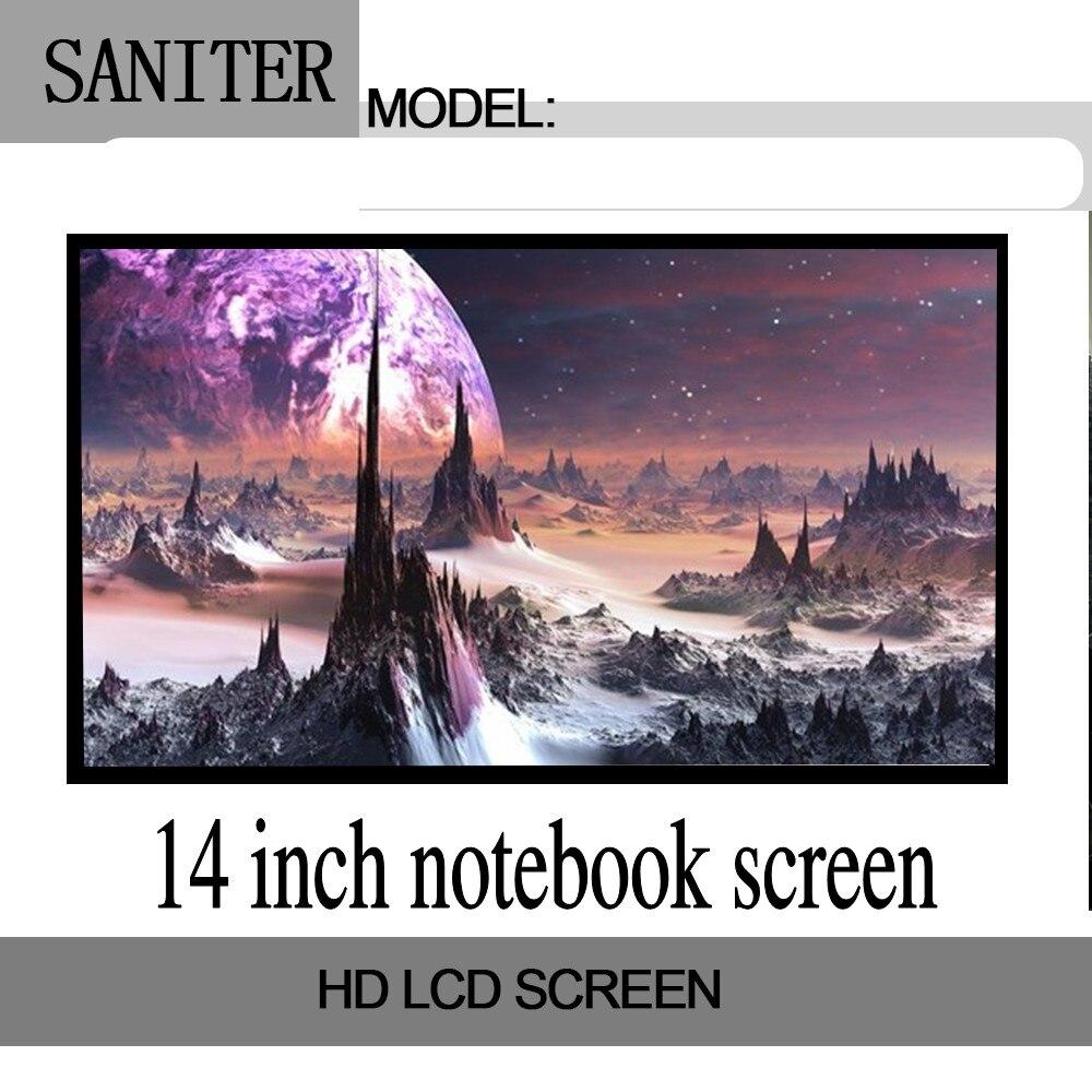 B140XW01 V.8 LP140WH1 LP140WH4 LTN140AT07 14 Inch Laptop Screen LED Backlights 40 Pin Resolution 1366*768 Laptop Display 14 0inch led screen ltn140at02 lp140wh4 lp140wh1 ltn140at16 ltn140at26 b140xw01 n140bge l21 ltn140at07 b140xw01 v 8