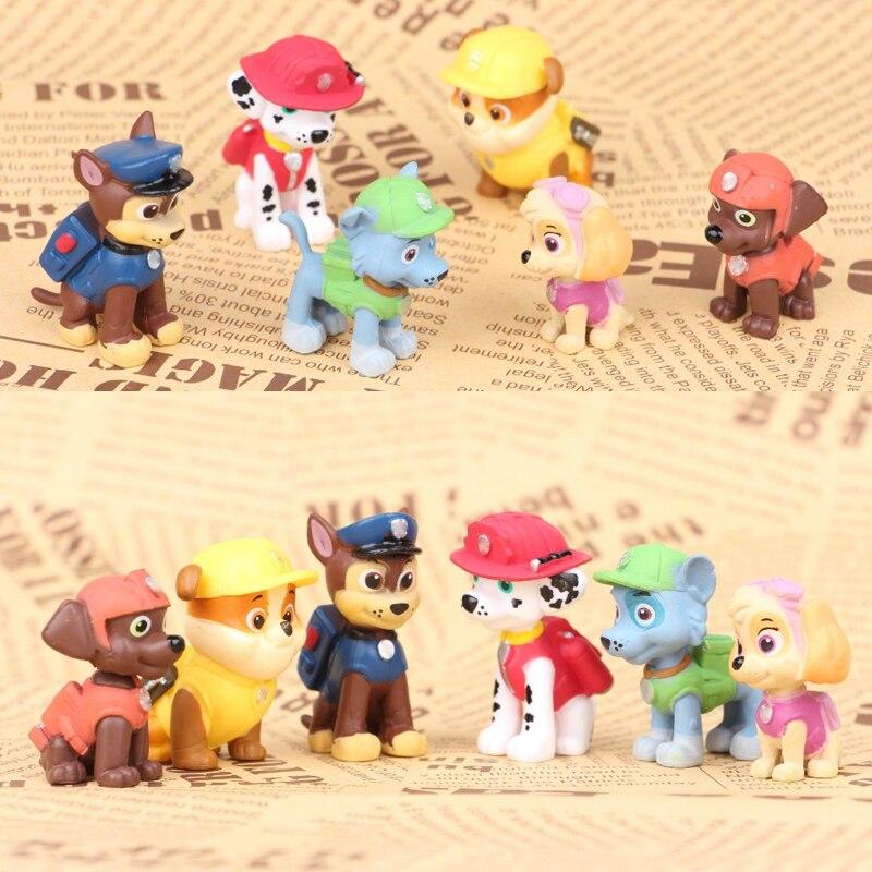 Figuras de Ação e Toy canina anime figuras de ação Tamanho : 3.5-6cm