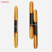 מודרני קיר אור מנורות LED עד למטה אלומיניום צינור כנף 2 אורות שחור זהב נורדי מנורת קיר אור קבועה