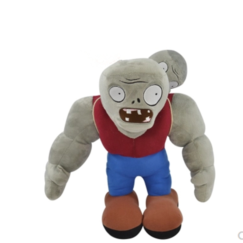 Cartoon Plants VS Zombies Gargantuar Zombie PVZ Soft Plush Dolls Stuffed Toys 13 32 CM and 50CM Muscle zombie