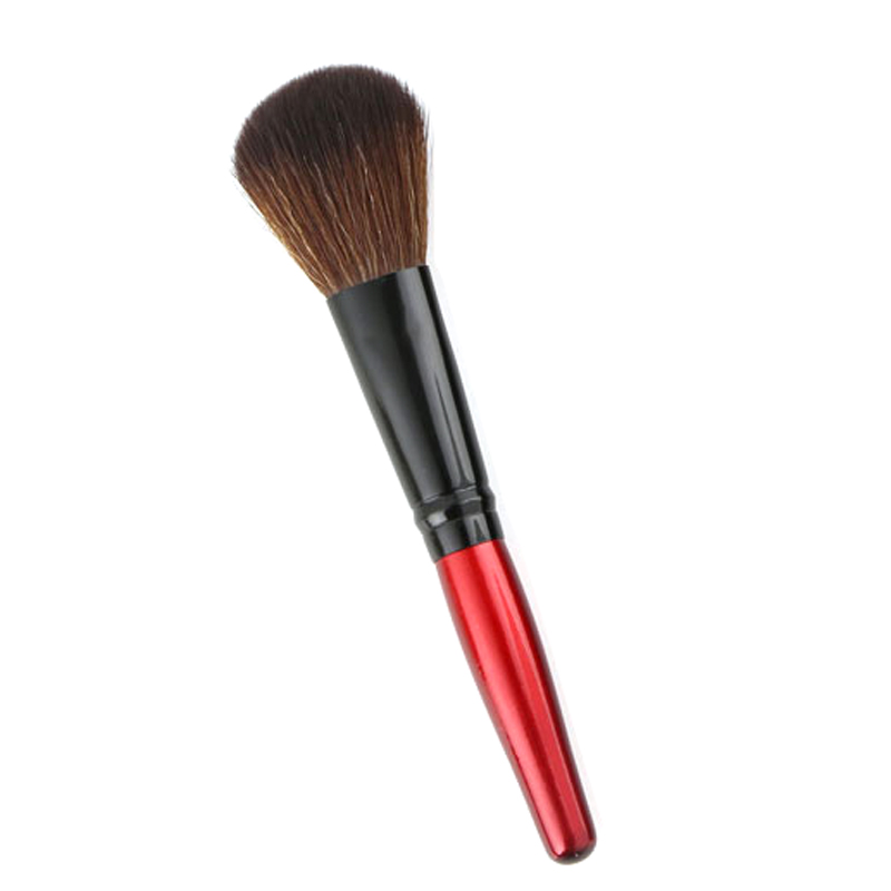 MECOLOR Wooden Handle Makeup Brushes set tools For Face Powder Blusher Foundation eye cosmetics brush Beauty kits 6