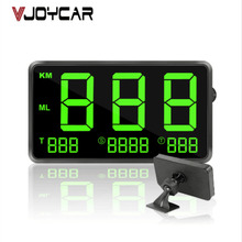 VJOYCAR C80 4.5″ GPS Speedometer Hud Display Digital Car Speed Alarm MPH KM/H Altitude Display Projector C60s For GAZ GAZelle