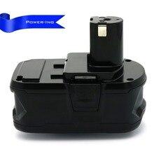 18 v 4000 mah li-bateria de substituição Para Bateria Recarregável de Íon de Lítio Ryobi