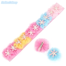 10pcs lot Kids Hairpins Cute Lace Floral Hello Kitty Hair Clips Children Hair Styling Decorations Accessories