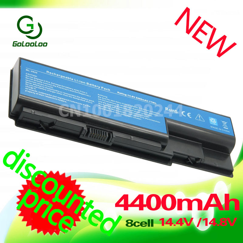 Golooloo 14.8V Battery For Acer Aspire 5920G 5520G 5315 AS07B31 AS07B32 AS07B42 AS07B41 AS07B51 AS07B52 AS07B61 AS07B71 AS07B72