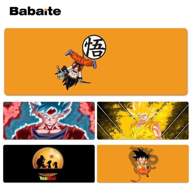 Babaite Нескользящие PC Гоку геймер играть коврики Lockedge Мышь pad Размеры для 30x90 см 40x90 см Скорость мышь Pad