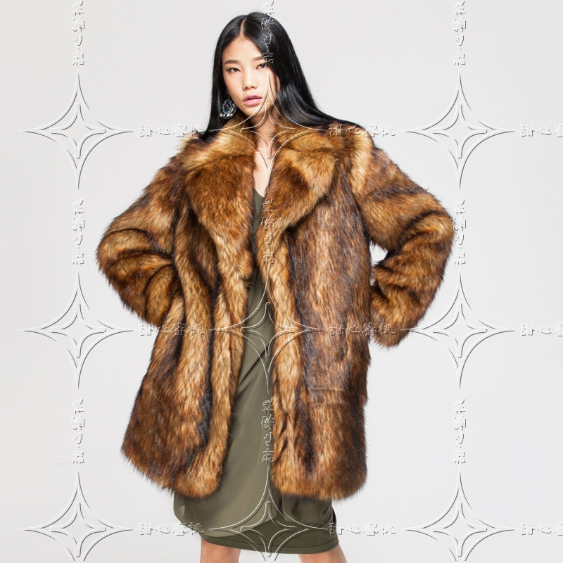 De Style En Mode Manteaux Club Vacances Noël Chaud Nouveau 2018 Manteau Fourrure Fausse Vintage Gros Celebrity Femmes Sexy XpqwE5nf