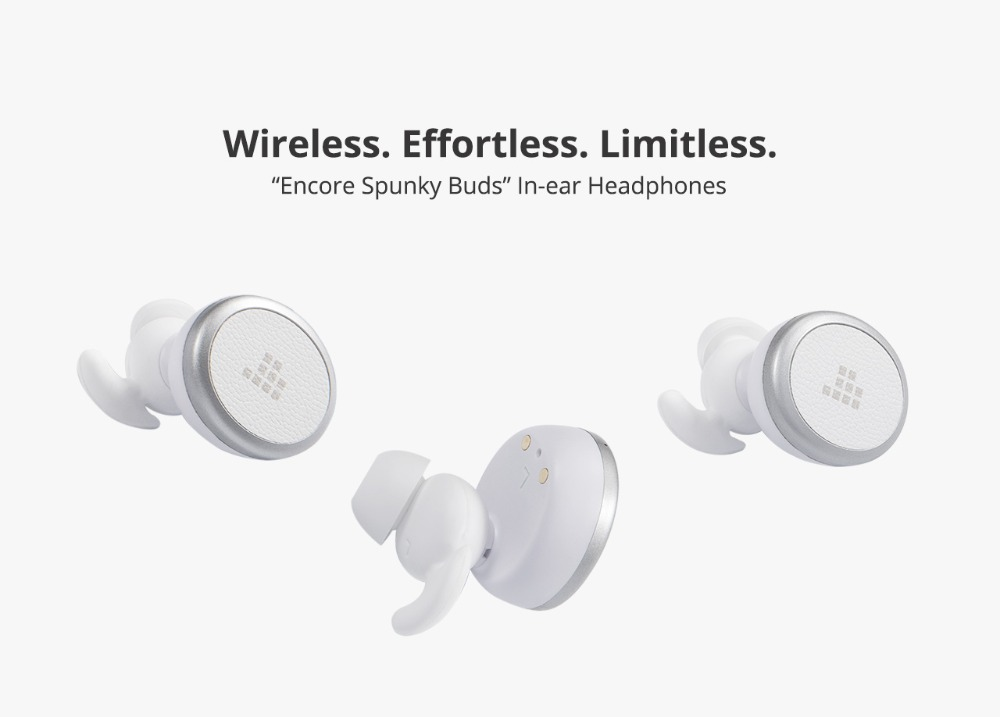 Tronsmart Spunky Buds Wireless Headphones Bluetooth 5.0 True Wireless Stereo Earbuds IPX5 Headphones with Mic for Phones 01