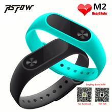 RsFow New M2 Smart Bracelet Heart Rate Monitor Bluetooth Smartband Health Fitness Tracker Smart Band Wristband for Android iOS