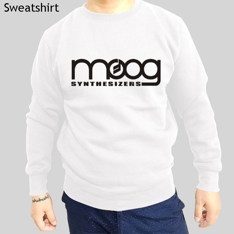 O-neck Sweatshirt Men Autumn Hoody Moog Synthesizer Cotton Long Sleeve Male Hoodies Euro Size Drop Shipping Promoting Health And Curing Diseases Back To Search Resultsmen's Clothing