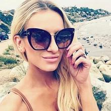 COOLSIR Oversize Women Square Sunglasses Brand Designer Fashion Gradient/Clear Lens Sun Glasses UV400