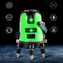 2/3 Line Laser Level Detector Automatic Anping 360 Bidirectional Vertical Line Laser Level Line Caster Construction Tools