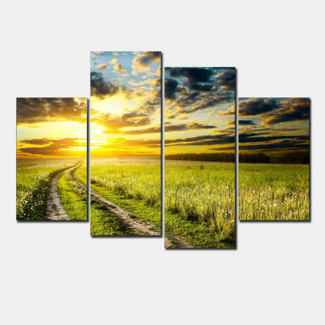 Modern Wall Art Home Decoration Printed Oil Painting Pictures 4 ...