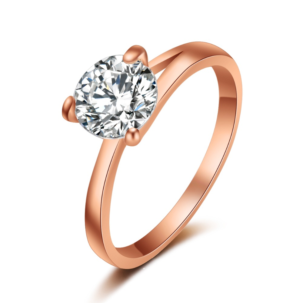 G29 2016 fashion women jewelry engagement ring 3 claws 8mm for Jewelry storm arrow ring