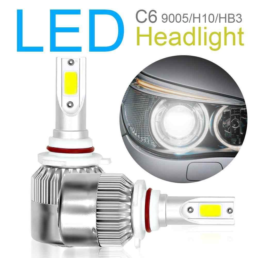 2Pcs 36W C6 6500K H1 H3 H4 9005 9004/9007 Led Headlight Bulb 8000LM Led Beam Car Headlight Bulbs Lamp Light