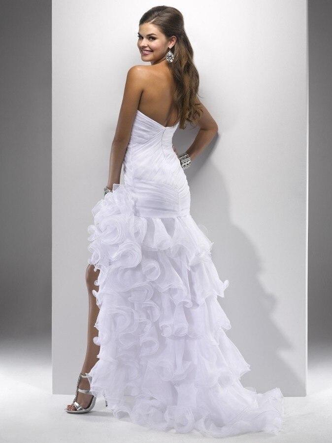 Vestidos De Novia 2016 New Design custom Sexy Short Front Long Back ...