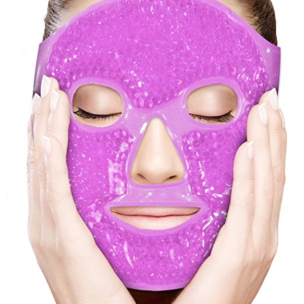 Ice Gel Eye Face Mask Hot Cold Therapy Sleep Mask For Migraines,Headache,Sinus Pain,Puffy Eyes,Dark Circles,Skin Care Tool