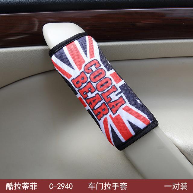 2 guantes de Protección Pc car series establece un par de guantes en el interior del coche suministros tiran guantes