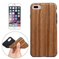 For iPhone 7 Skin Luxury Wooden Soft TPU Cover For Apple iPhone 7 Plus Case Wood Grain Soft Back Shell Phone Cases For iphone7