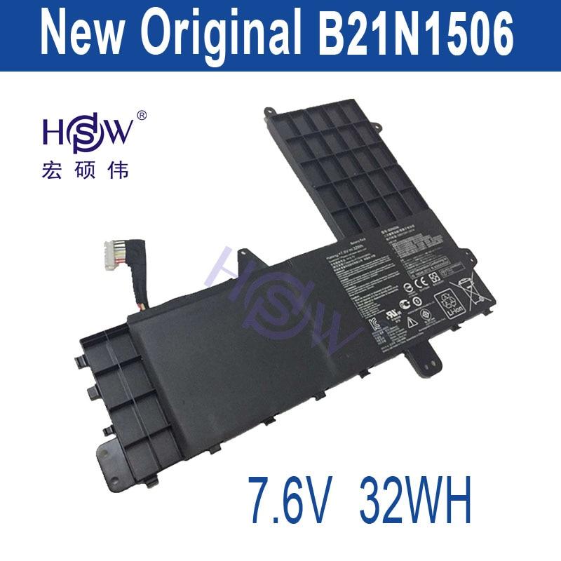 HSW New 7.6V 32Wh Genuine Original B21N1506 Battery for Asus E502M  bateria akku