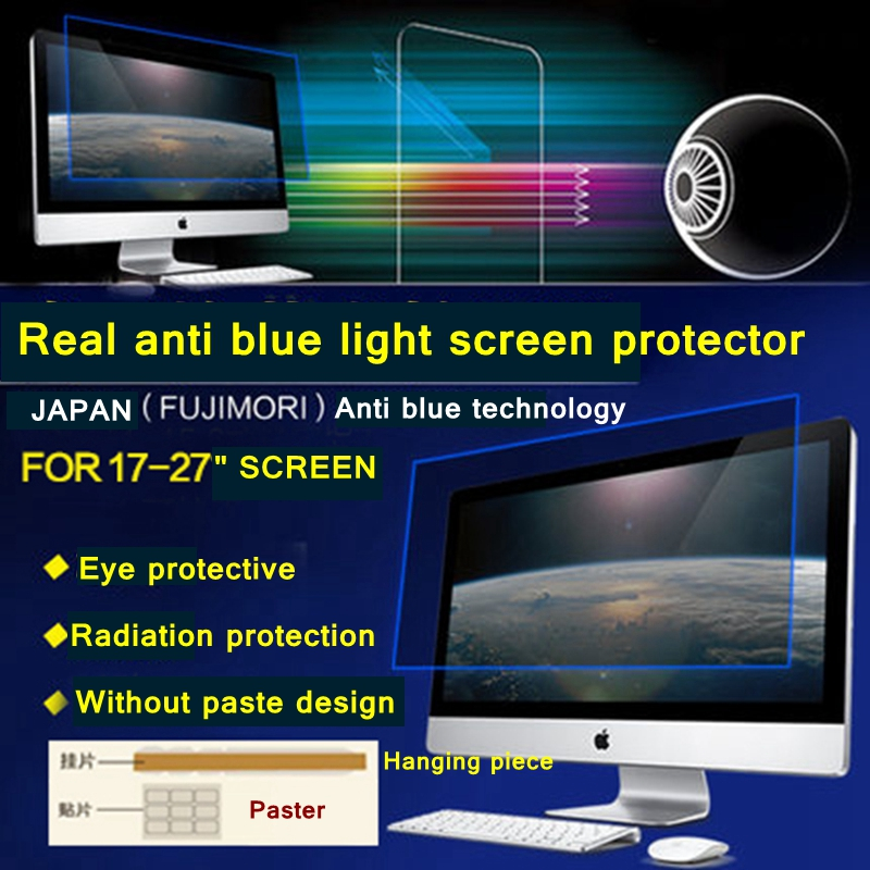 23 8 16 9 Wide Screen 528x296mm Size Desktop Computer Anti Blue Ray Eye Protection Film Bule Reductio On Aliexpress Alibaba Group