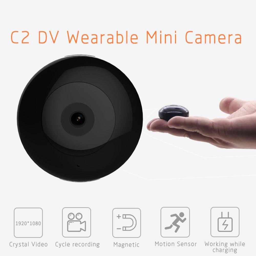Mini Camera Camsoy C2DV Wifi 1080P FULL HD Body Wearable Motion Detection Action Camera DV DVR Recorder C2 Wifi Micro Cameras(China)