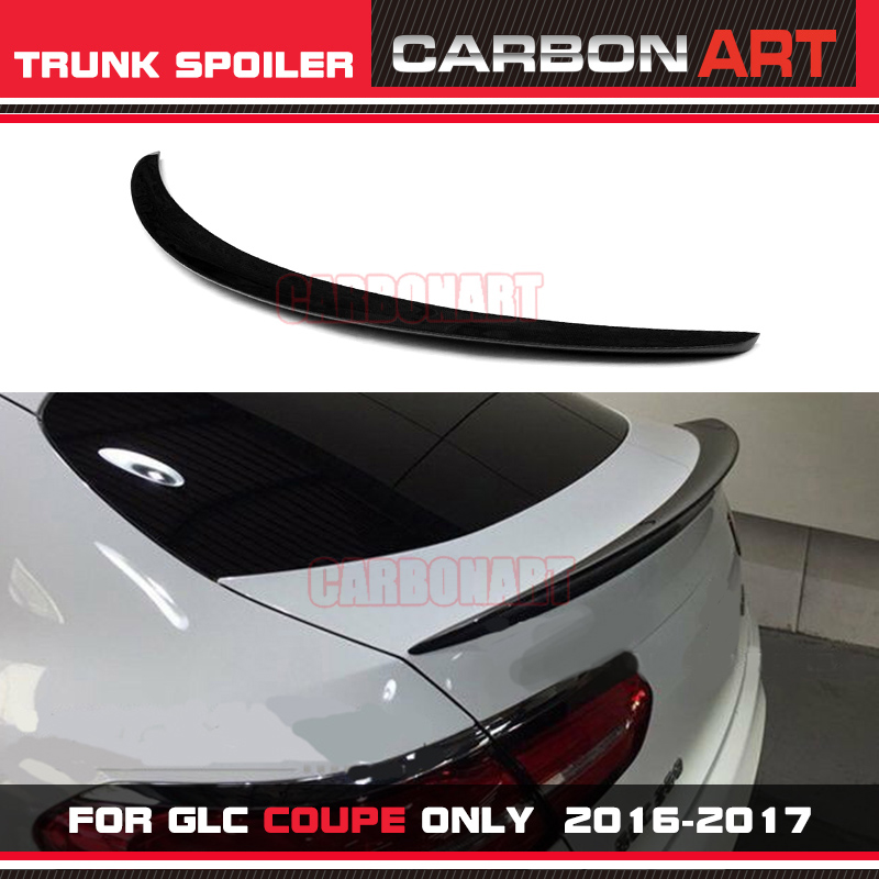 For Mercedes Benz Glc Class Coupe Glc300 Glc250 Spoiler: Carbonart GLC Coupe 4matic AM G Style Carbon CF Rear Trunk