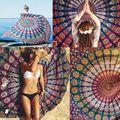 Tapiz de la Playa Bohemia Geométrica Mantel Alfombra De Pared Decorativos Tapices Arte Colgante Mandala Meditación Cama Decoración Tapete