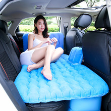 Car Inflatable sofa Mattress Travel Bed Seat Cover Universal Back Seat waterproof Car goods camping car accessories match home