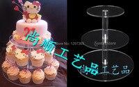 MIỄN PHÍ VẬN CHUYỂN 3 TIER QUẢNG TRƯỜNG CUPCAKE WEDDING CỔ TÍCH CUP CAKE ĐỨNG, NGƯỜI GIỮ CUPCAKE