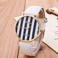 Relogio feminino 2016 Nova Tarja Mulheres Quartz Watch Moda Casual Couro Relógios De Pulso Genebra Senhoras Relógio Reloj Mujer
