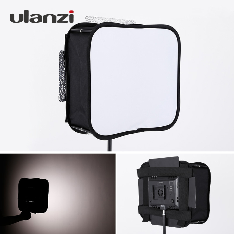 Diffuseur de Softbox Flash pliable Portable Ulanzi pour panneau lumineux vidéo Led YONGNUO YN600L II YN900 YN300 YN300 III YN300Air