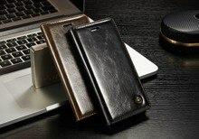 Arrival For Apple iPhone 5s SE 6s plus 7 7 plus Case Original CaseMe Luxury PU Leather Businessman Style Flip Wallet Stand Cover
