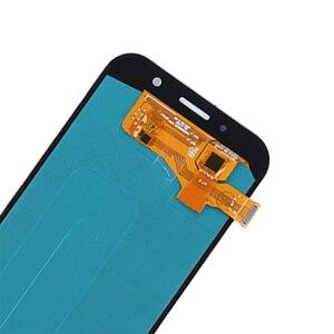 Image 5 - ЖК дисплей AMOLED для Samsung Galaxy A7 2017 A720 A720F, дигитайзер сенсорного экрана в сборе, детали для телефонов Galaxy A7 2017