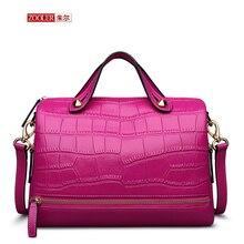 ZOOLER NEW 2016 women leather bag lady real leather handbag luxury top handle woman shoulder bags boston bolsa feminina #T-6161