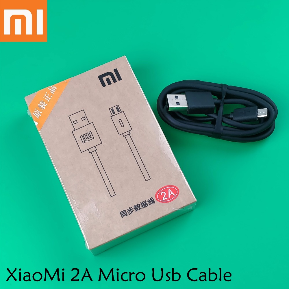 Hot Sale Xiaomi Redmi 4x Charger Cable Original5v 2a Mirco Usb Data Original For Mi 3 4 Max Red 2 2s 3x 3s Note