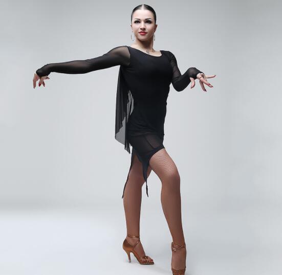 Sex Women Lady Latin Dance Dress Backless Vestidos Cha Cha -8080