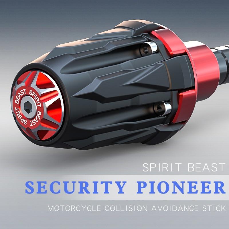 цена на Motorcycle floor protection motocross accessories CB190X styling decorative universal motorbike protective block spirit beast
