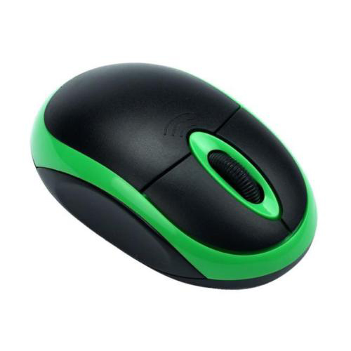 2.4GHz 3D USB Wireless Optical Gaming Mouse Mice PC For Desktop Laptop Computer Green+Black