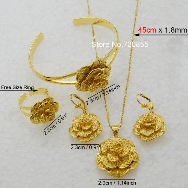 Anniyo Rose Jewelry Set...