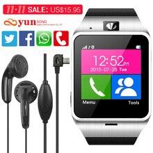Neue gv18 aplus smartwatch bluetooth smart watch für android ios telefon unterstützung SIM TF Karte SMS GPRS NFC FM PK DZ09 GT08 U8